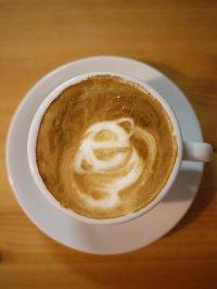kawa przy komputerze